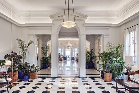 Lobby at Belmond Reids Palace Madeira Portugal