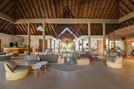 Lobby at Le Canonnier Mauritius