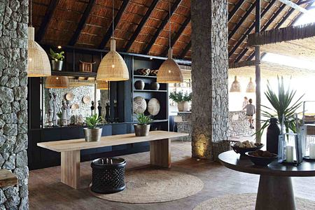 Lobby at Londolozi South Africa