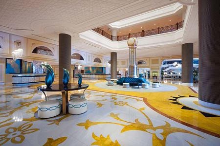 Lobby at Waldorf Astoria UAE