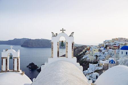Local Area at Vedema Santorini Greece