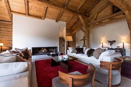 Lounge at Ferme de Moudon France