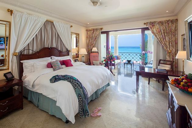 Luxury Ocean Room at Sandy Lane Barbados