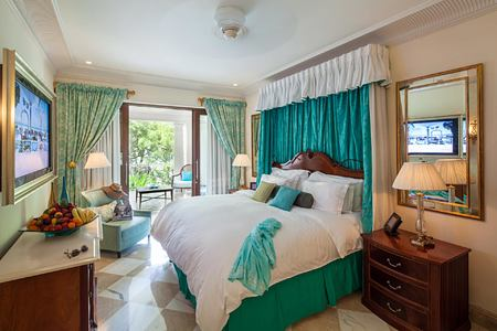 Luxury Orchid Suite at Sandy Lane Barbados