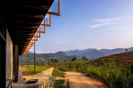 Main Pavilion outlook at Santani Sri Lanka