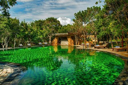 Main Pool at Chena Huts Sri Lanka