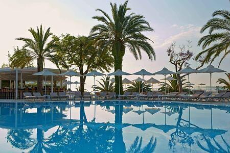 Pool bar at Marbella Corfu Greece