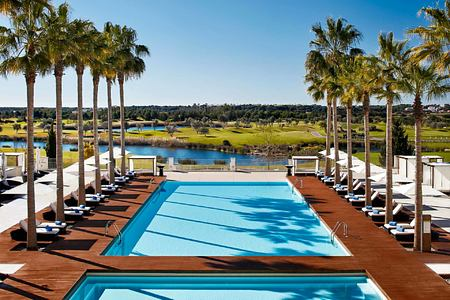 Main pool at Anantara Vilamoura Algarve Portugal