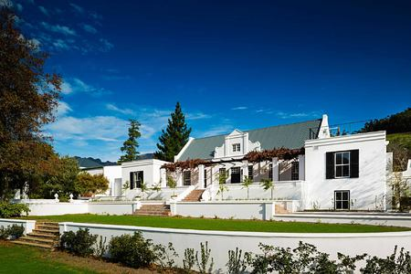 Manor House Exterior at Mont Rochelle Franschhoek South Africa