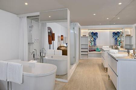 Master Suite Bathroom at Sol Beach House Fuerteventura