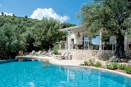 Mimosa House Corfu Greece