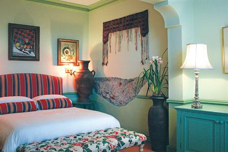 Moroccan room at Colona Castle Cape Town South Africa