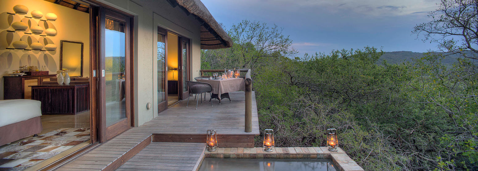 Mountain Lodge with Private Plunge Pool at Phinda South Africa