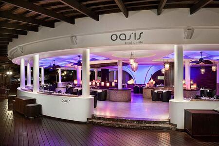 Oasis Pool Grille at Redlevel at Gran Melia Tenerife