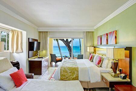 Ocean Front with Sleeper Sofa at Tamarind Barbados