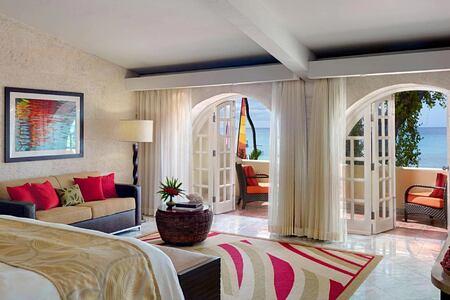 Ocean front Junior Suite at Tamarind Barbados