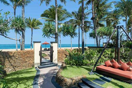 Ocean front villa at St Regis Bali Indonesia