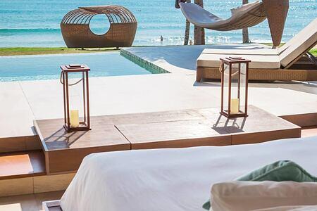 Ocean pool villa at Fusion Resort Cam Ranh Vietnam