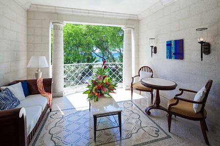 Orchid Room Balcony at Sandy Lane Barbados