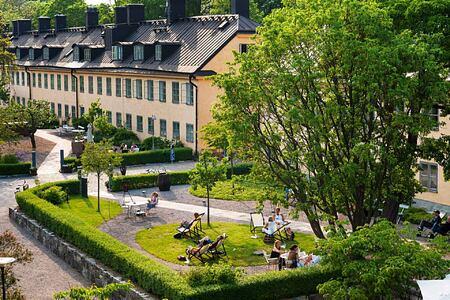 Outlook from Hotel Skeppsholmen Sweden