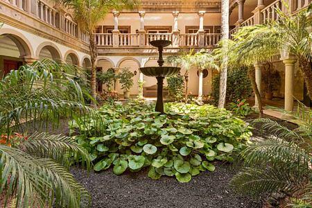 Patio at Gran Hotel Bahia del Duque Tenerife Spain