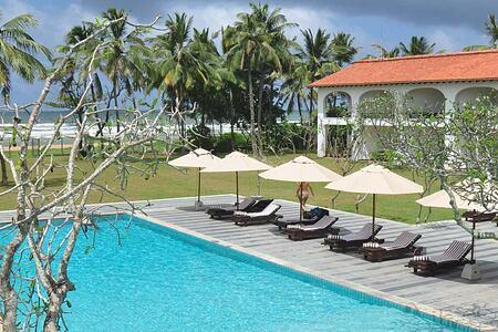 Pool at Ayurveda Maha Gedara Sri Lanka