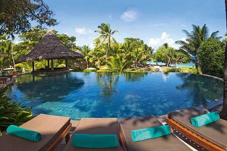 Pool at Constance Lemuria Resort Seychelles