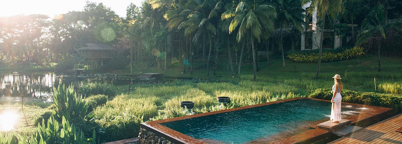 Pool at Four Seasons Chiang Mai Thailand