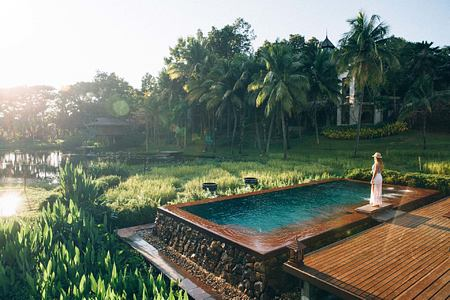 Pool at Four Seasons Chiang Mai Thailand