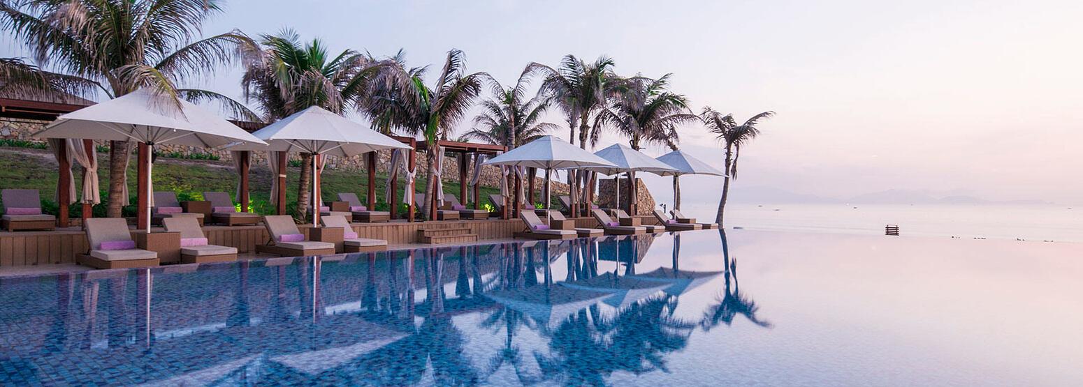 Pool at Fusion Resort Cam Ranh Vietnam