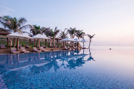Pool at Fusion Resort Cam Ranh Vietnam