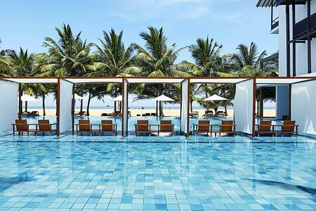 Pool at Jetwing Blue Negombo Sri Lanka