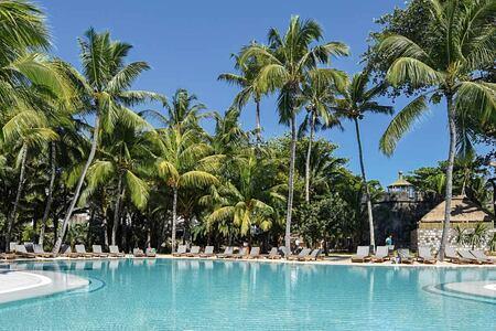 Pool at Le Canonnier Mauritius