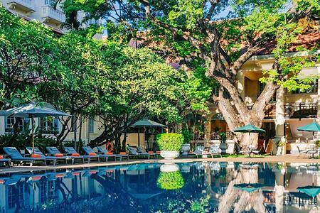 Pool at Raffles Hotel Le Royal Cambodia