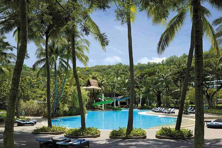 Pool at Shangri la Rasa Ria Borneo Malaysia