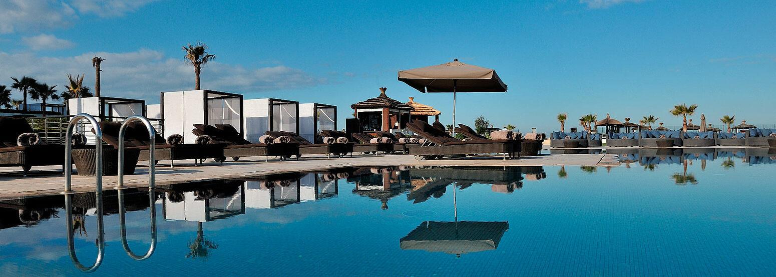 Pool at Sofitel Thalassa Agadir Morocco