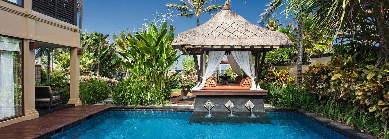 Pool at St Regis Bali Indonesia