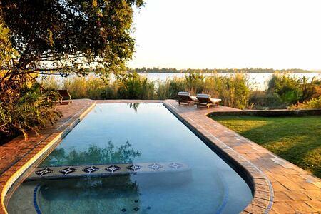 Pool at Tangala House Zambia