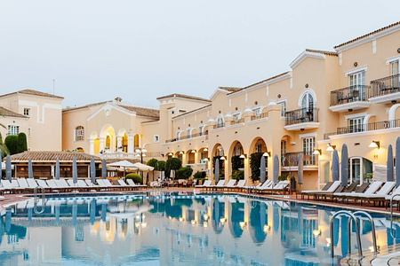 Pool at la Manga Club Spain