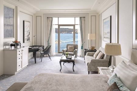Premier Bosphorus Room at Shangri la Bosphorus Turkey