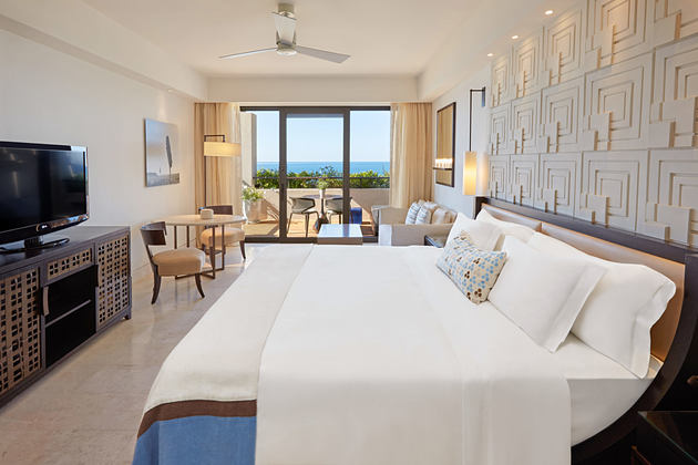 Premium Deluxe Room at Romanos Costa Navarino Greece