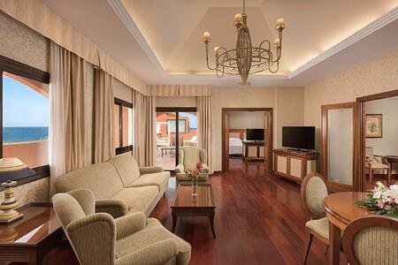 Presidential Suite Living Room at Sheraton Fuerteventura Spain