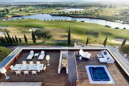 Presidential Suite Deck at Anantara Vilamoura Algarve Portugal