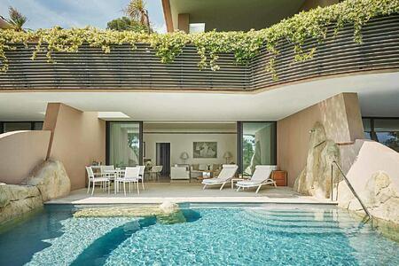 Private pool at Grand Hotel du Cap Ferrat France