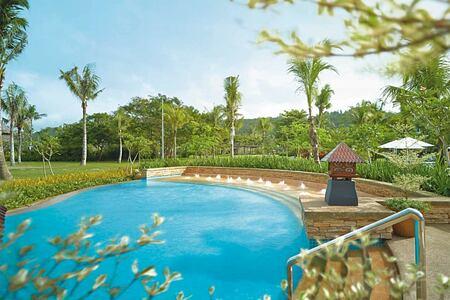 Private pool at Shangri la Rasa Ria Borneo Malaysia