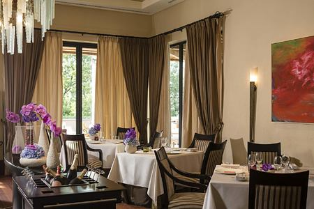 Restaurant Faventia at Terre Blanche Golf and Spa Resort France