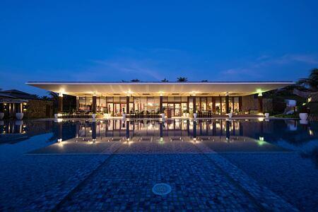 Restaurant at Fusion Resort Cam Ranh Vietnam
