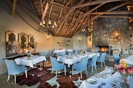 Restaurant at Great Fish River Lodge South Africa