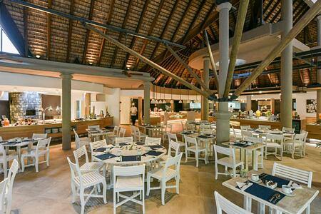Restaurant at Le Canonnier Mauritius