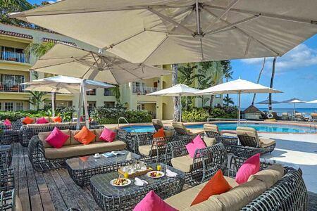 Rilaks Pool Deck at Tamarind Barbados